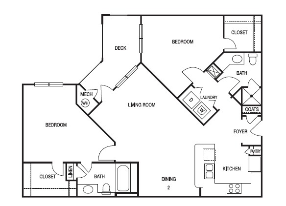Floorplan - The Pointe at Lindbergh
