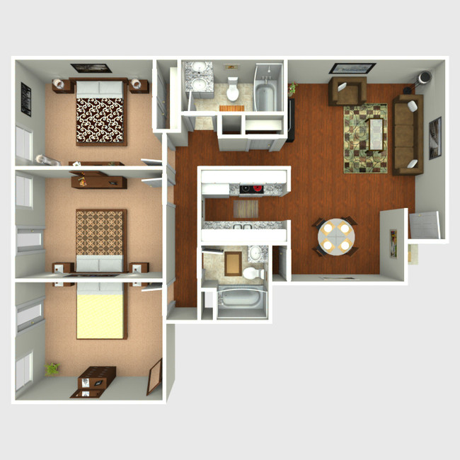 Villas Del Rey - Affordable Apartments