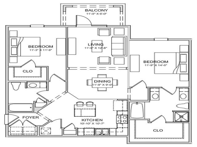 B1 1 1198 S F Roberts Iii Apartments