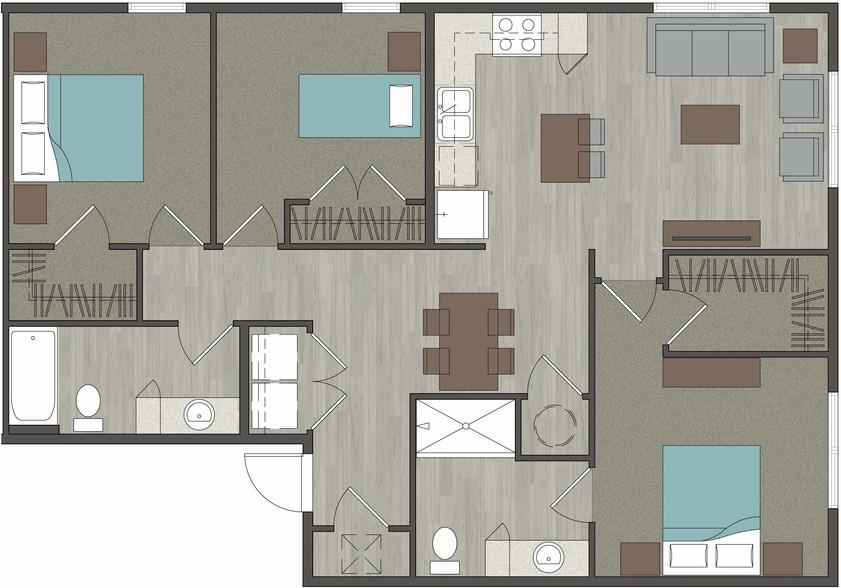 Lofts At Lavilla Affordable Apartments 995 Water St