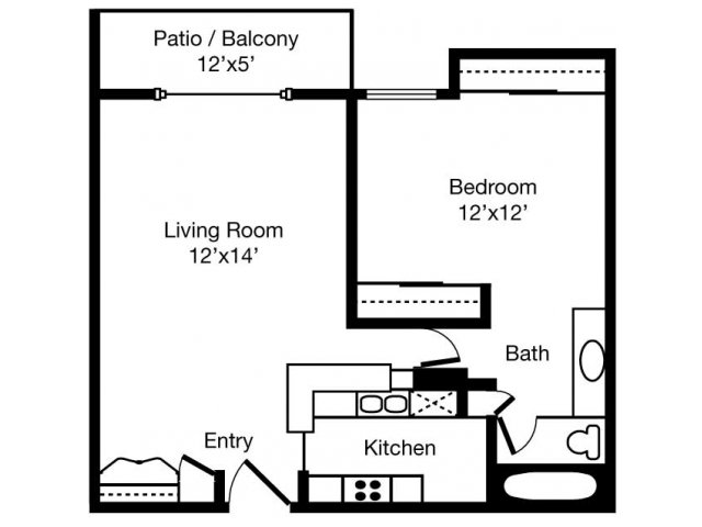 Floorplan - eaves Woodland Hills