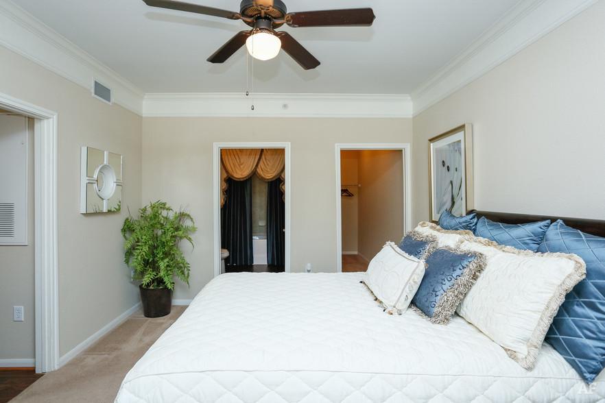 2BR, 2BA - B1 Lower - Master Bedroom - Stonepost at Shadow Creek Ranch
