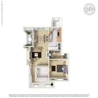 Floorplan - Tranquility Bay Apartment