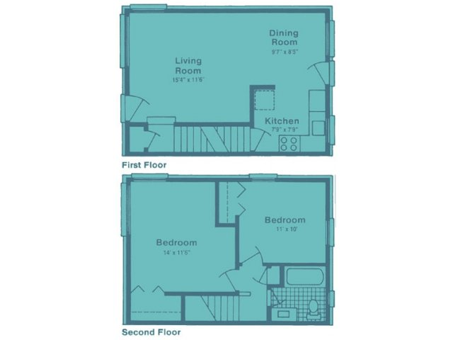 Arlington Townhomes & Apartments | 3115 Evergreen Dr ...