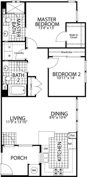 Floorplan - The Reserve at 4S Ranch