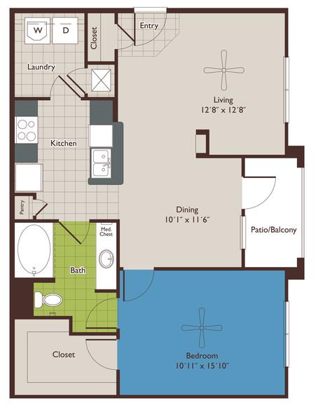 Floorplan - Marquis At Woodlands