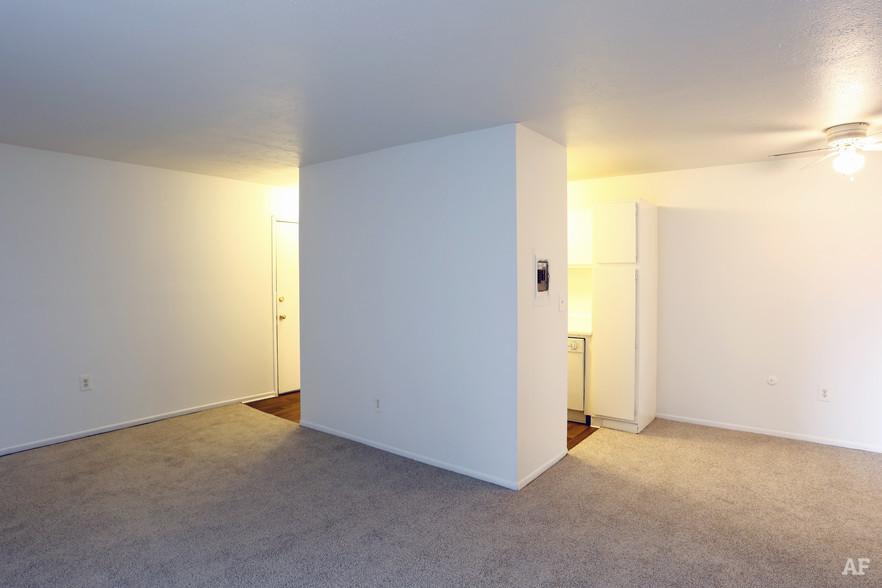 Two Bedroom - Living Room - Hawthorne Club Apartments