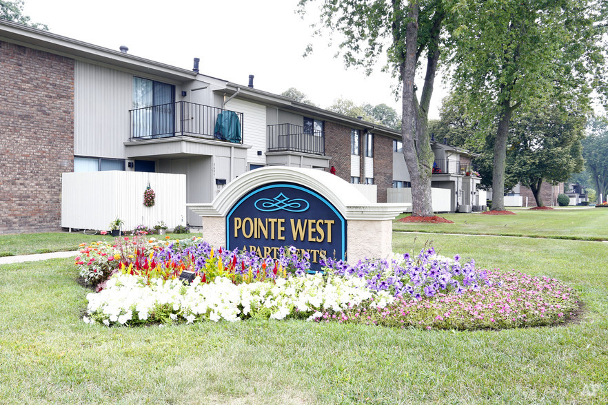 Entrance - Pointe West Apartments