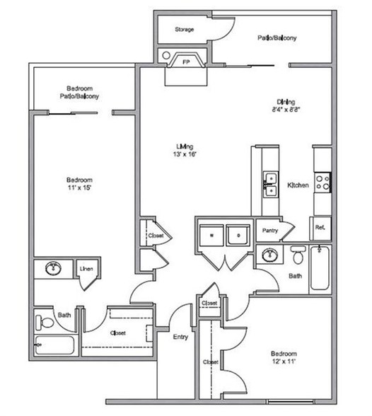 Floorplan - Oaks of Westchase
