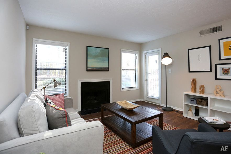 1 BR, 1 BA - Kitchen - The Crossings