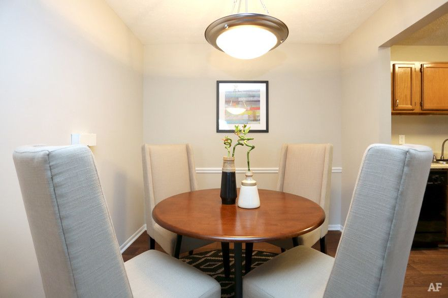 1 BR, 1 BA - Dining area - The Crossings